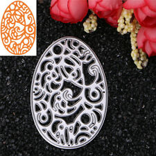 Egg Shape Metal Cutting Dies Stencil DIY Scrapbooking Album Card Embossing Craft