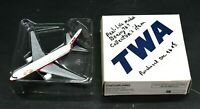Ertl Collectibles H256 TWA Vintage 1996 Diecast Model Airplane H660 Metal Jet