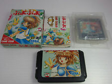 MEGA DRIVE GENESIS PUYO PUYO + Game Gear lot of 2 games japan Version  SEGA