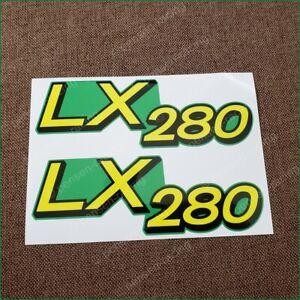 John Deere Lower Hood Decal Set For LX280 Tractors M149591