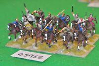 25mm roman era / goth - cavalry 12 figs (plastic) - cav (45952)