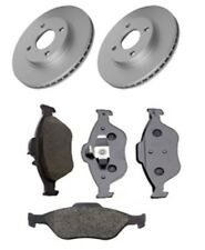 Brake Discs X2 and Pads Set Front Fits Ford Fiesta V Ford Ka RB_ 1.6 16V 2000-08