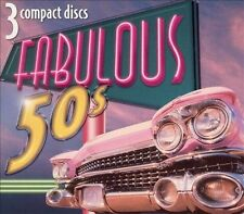 The Fabulous 50's [2005 Madacy] [Digipak] by Various Artists (CD, Jun-2005, 3...
