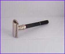 Gillette Super Adjustable Black Beauty safety razor rasoio rasoir
