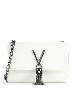 VALENTINO BAGS DIVINA OFF WHITE  CROSSBODY MINI BAG - VBS1R403G