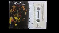 Cheap Trick at Budokan Cassette Live 1978 CBS Rock EPC-3969 Aust`