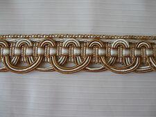 25 METRES DE GALON LÉZARDE ANCIEN PASSEMENTERIE DE LYON/FRENCH TRIM/N°Ki94
