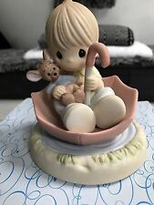 Precious Moments To make the best of a rainy day Figurine #720018 boxed 2007