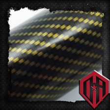2M HYDROGRAPHIC WATER TRANSFER HYDRODIP FILM HYDRO DIP GOLD TILE CARBON FIBER