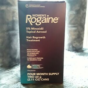 Womens Rogaine Extra Strength Topical Solution 5% Minoxidil 4 month exp 11/22