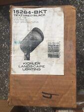 Kichler 15284-BKT textured Black 75watt Landscape spot light