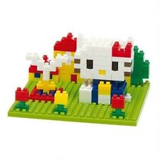 NANO BLOCKS BLOCK ART HELLO KITTY SET -  MINI BRICKS PUZZLE NANOBLOCK NBCC055