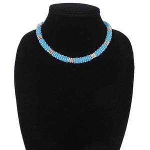 Lagos | Blue Caviar Station Ceramic Beaded Necklace