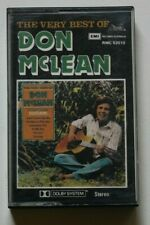 Don McLean The very best of Cassette RMC 52010
