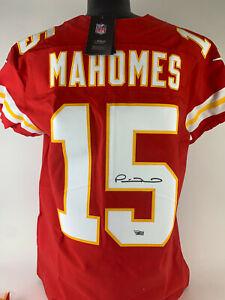 Patrick Mahomes Signed Autographed Nike Elite On Field Jersey Fanatics coa auto