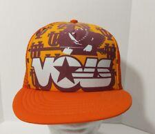 Vintage Tennessee Vols Snapback Trucker Hat Cap Logo All Over