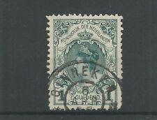 "Nederland 49 met ""GINNEKEN 1898"" grootrond VFU/gebr  CV 150+ €"
