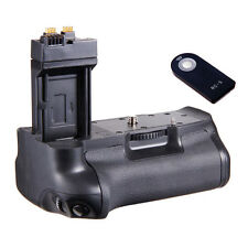 RC-5 Remote + Vertical BG-E8 Battery Grip for Canon EOS 550D 600D 700D Cameras