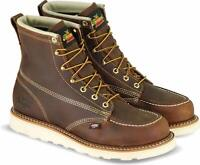"Thorogood 6"" Moc Toe American Heritage USA Made Wedge Sole Boots  814-4203"