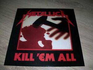 METALLICA RARE LP KILL 'EM ALL EXCELLENT ETAT