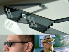 Thug Life Glasses 8 Bit Pixel Deal Mosaic IT Sunglasses Unisex LIKE A BOSS