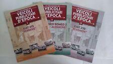 VEICOLI PUBBLICITARI D'EPOCA FASCICOLI SCEGLI DAL MENU A TENDINA