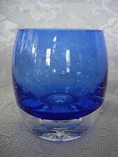 Beautiful Lt Cobalt Blue Blown Glass Votive / Tealight