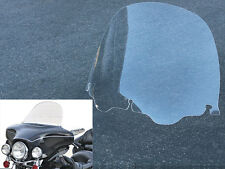 "13"" Clear Windshield For 96-13 Harley Touring Street Glide Electra Ultra Classic"