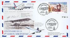 """A380-125 FFC """"100 ans Poste aérienne H. Péquet - Airbus A380 - Concorde"""" 2011"""