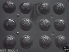 3D GOLF BALL CHOCOLATE MOULD MOLD 12 ON 1 MOULD