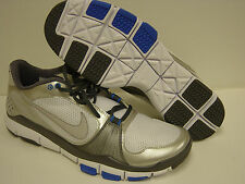 NEW Mens Sz 14 NIKE Free TR 395928 107 White Blue Grey Sneakers Shoes NO LID