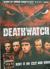 Jamie Bell DEATHWATCH(2003)  Original UK video release poster