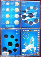 Carte de Collection pour série euros de la 1 ct à la 2 euros - LEUCHTTURM  Neuve