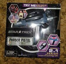 Diamond Select Star Trek Original Series 2 in 1 Phaser Pistol NEW Art Asylum