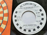 CHUCK DUBERSTEIN - A Shot Of Rhythm And Blues MONO PROMO 1972 Funk Soul 7""