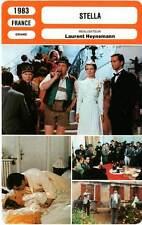 FICHE CINEMA : STELLA - Garcia,Lhermitte,Brialy,Denner,Heynemann 1983