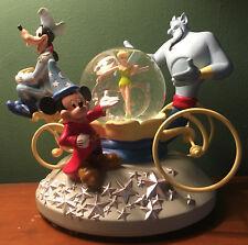 Walt Disney World 25Th Anniversary Musical Snow Globe Snowglobe