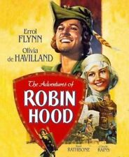 Adventures of Robin Hood With Errol Flynn Blu-ray Region 1 012569798397