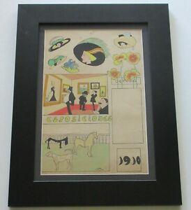 ZIG-ZAG ANTIQUE PAINTING MAGAZINE 1890'S -1920 ART DECO NOUVEAU ART EXHIBITION
