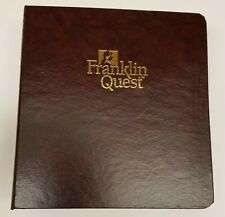 Franklin Covey Lot Of Classic Size Planner Pages Filler Blank Amp Storage Binder