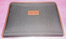 "Vintage PartyLite Tote Bag Case 15"" x 11"" x2"" Pockets Inside & Out Zip closure"