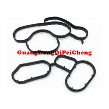 Engine Oil Filter Housing Gasket Seal For BMW E90 E46 11427508970 11427508971