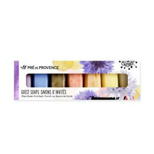Pre De Provence French Luxury Soap Gift Set Shea Butter Rose Lavender (7 x 25g)