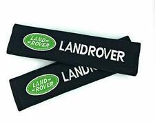 Land Rover Seat Belt Cover Pads One Pair 2pcs Shoulder emblems Defender Car