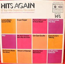 HITS AGAIN LP Record MFP 1351 Oct 1969 Soundalike Covers.