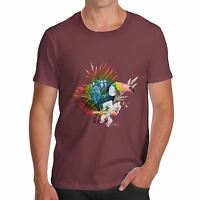Twisted Envy Men's Toucan In The Wild Funny Cotton T-Shirt