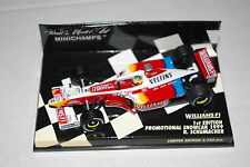 Minichamps F1 1/43 WILLIAMS SUPERTEC PROMOTIONAL SHOWCAR 1999 RALF SCHUMACHER