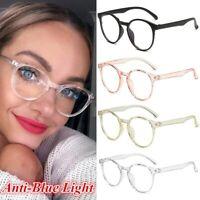 Blue Light Blocking Filter Glasses Anti Eyestrain Decorative Computer Spectacles