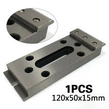 New Stainless Fixture Tool For Clamping & Leveling 120x50x15mm Silver Us