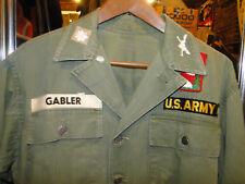 Vintage jacket Us Army Us Militaria Hbt Herringbone 13 Star Buttons Sz M